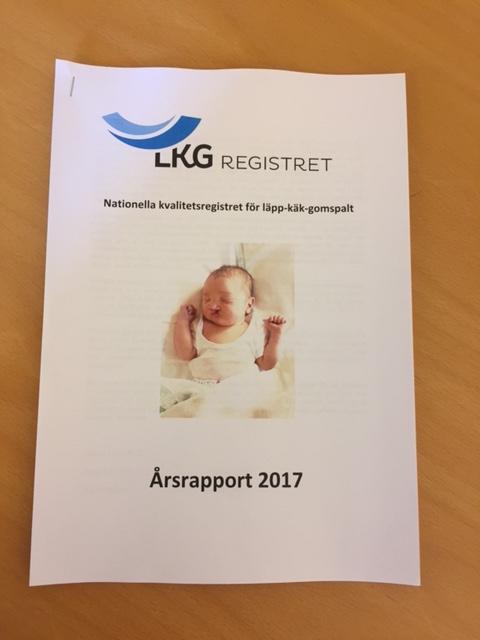 Årsrapporten i pappersformat.