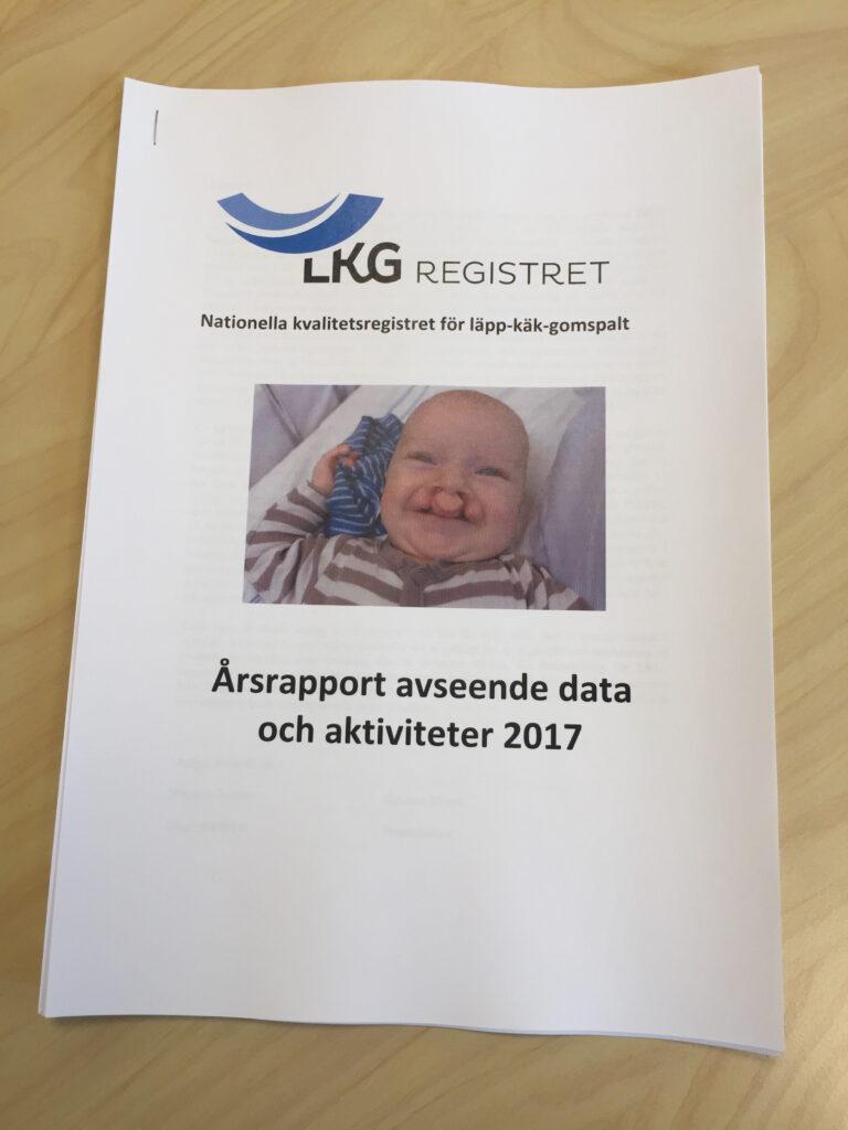 Årsrapporten 2018 i pappersformat.